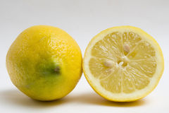 Sliced lemon fruit Royalty Free Stock Image