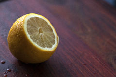 Sliced lemon Stock Photography