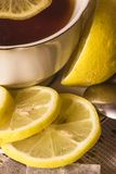 Sliced lemon tea Royalty Free Stock Photography
