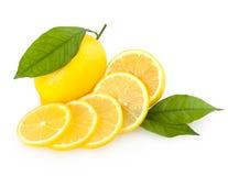 Sliced lemon Royalty Free Stock Photo
