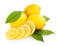 Sliced lemon Royalty Free Stock Photos