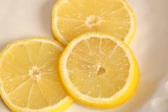 Sliced Lemon Stock Images