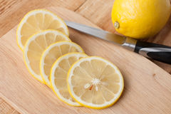 Sliced ​​lemon Royalty Free Stock Image