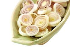 Sliced Lemongrass Stock Images