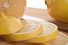 Sliced Lemons Royalty Free Stock Photo