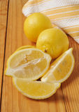 Sliced lemons Royalty Free Stock Photos