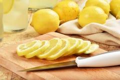 Sliced lemons Royalty Free Stock Images