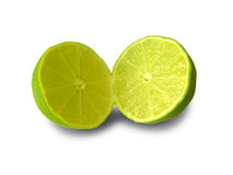 Sliced Lime Stock Images