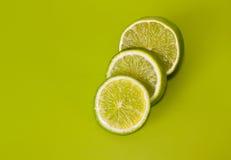 Sliced lime Stock Photos
