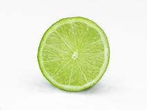 Sliced lime Royalty Free Stock Images