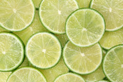 Sliced lime background Royalty Free Stock Photography