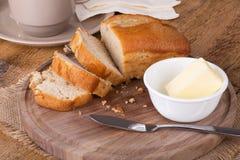 Apple strudel tea bread Royalty Free Stock Photography