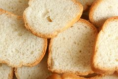 Sliced loaf of bread. For backgrounds or textures Stock Photos