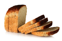 Sliced ​​loaf of bread. Stock Photography