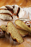 Sliced loaf of bread Royalty Free Stock Photography