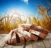 Sliced loaf of bread Stock Images