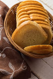 Sliced loaf of bread Royalty Free Stock Photos