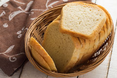 Sliced loaf of bread Royalty Free Stock Images