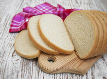 Sliced loaf of bread Royalty Free Stock Photo