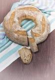 Sliced loaf of rye bread Stock Image