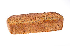 Sliced loaf of seeded bread Royalty Free Stock Images