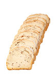Sliced loaf of spelled bread Stock Image