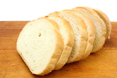 Sliced loaf of wheat bread Stock Image