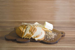 Sliced loaf Royalty Free Stock Photo