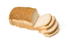 Sliced loaf of whole wheat Royalty Free Stock Photography