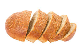 Sliced Loafs Of Bread Royalty Free Stock Photos