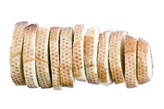 Sliced long loaf Royalty Free Stock Photo