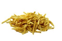Sliced long Potato chips Stock Photo