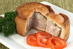 Free Sliced Melton Mowbray Pork Pie Stock Photography - 91184392