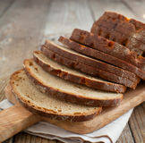 Sliced Monastery rye bread Royalty Free Stock Images