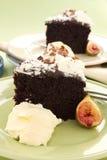 Sliced Mud Cake Royalty Free Stock Image