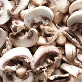 Sliced mushroom Royalty Free Stock Image