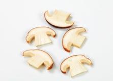 Sliced mushroom Royalty Free Stock Images