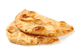 Sliced Naan Bread Royalty Free Stock Images