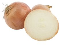 Sliced onion Stock Image