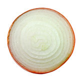 Sliced onion on white background Stock Image