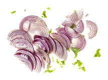 Sliced onions Royalty Free Stock Photo