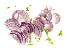 Sliced onions Royalty Free Stock Photo