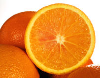 Sliced orange Stock Image