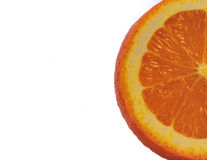 Sliced Orange Stock Photography