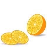 Sliced orange Royalty Free Stock Photo