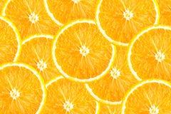 Sliced orange background. Orange slices as background texture. Food background royalty free stock photos