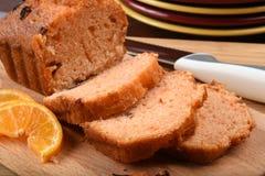 Sliced orange bread Stock Photo