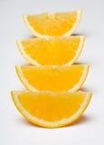 Sliced orange Royalty Free Stock Images