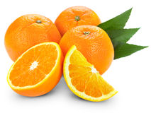 Sliced orange Stock Photography