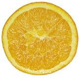 Sliced Orange Fruit. Slice of orange fruit on white background Stock Images